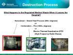 destruction process
