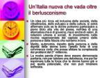 un italia nuova che vada oltre il berlusconismo