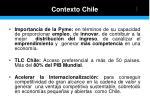 contexto chile
