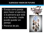 ejercicio vision de futuro