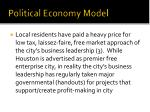 political economy model