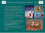 the los angeles games 1984