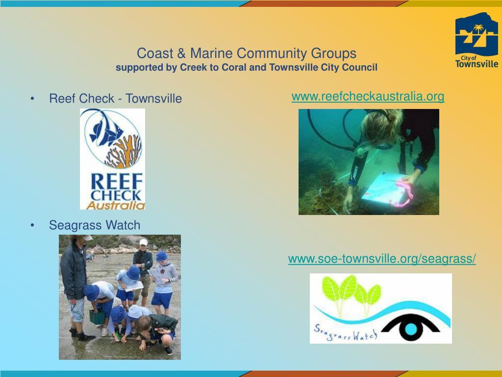 Coast & Marine Community Groups