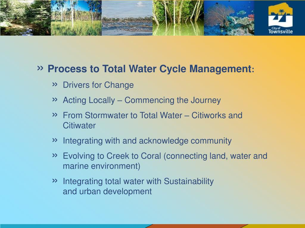 Process to Total Water Cycle Management