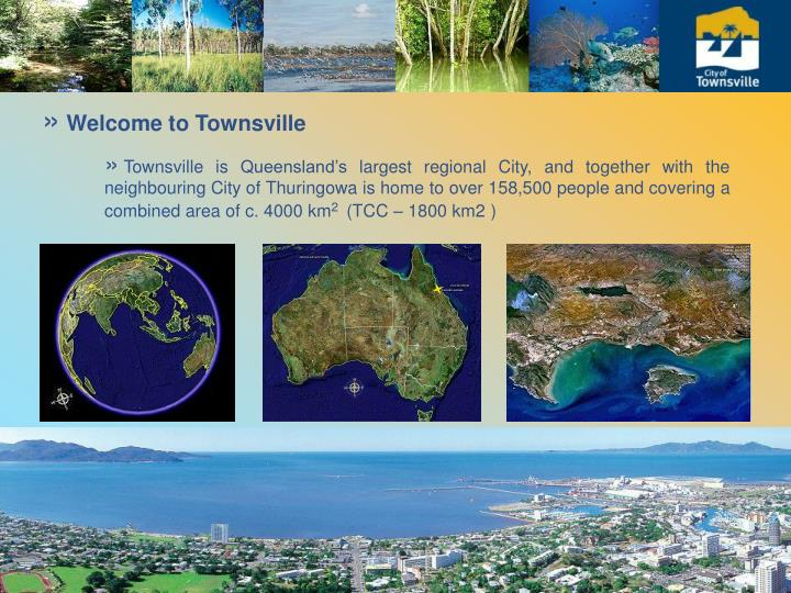 Welcome to Townsville