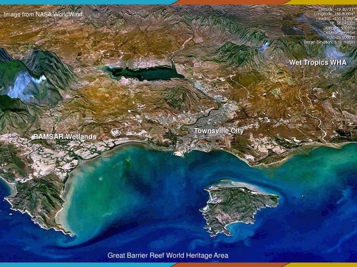 Image from NASA WorldWind