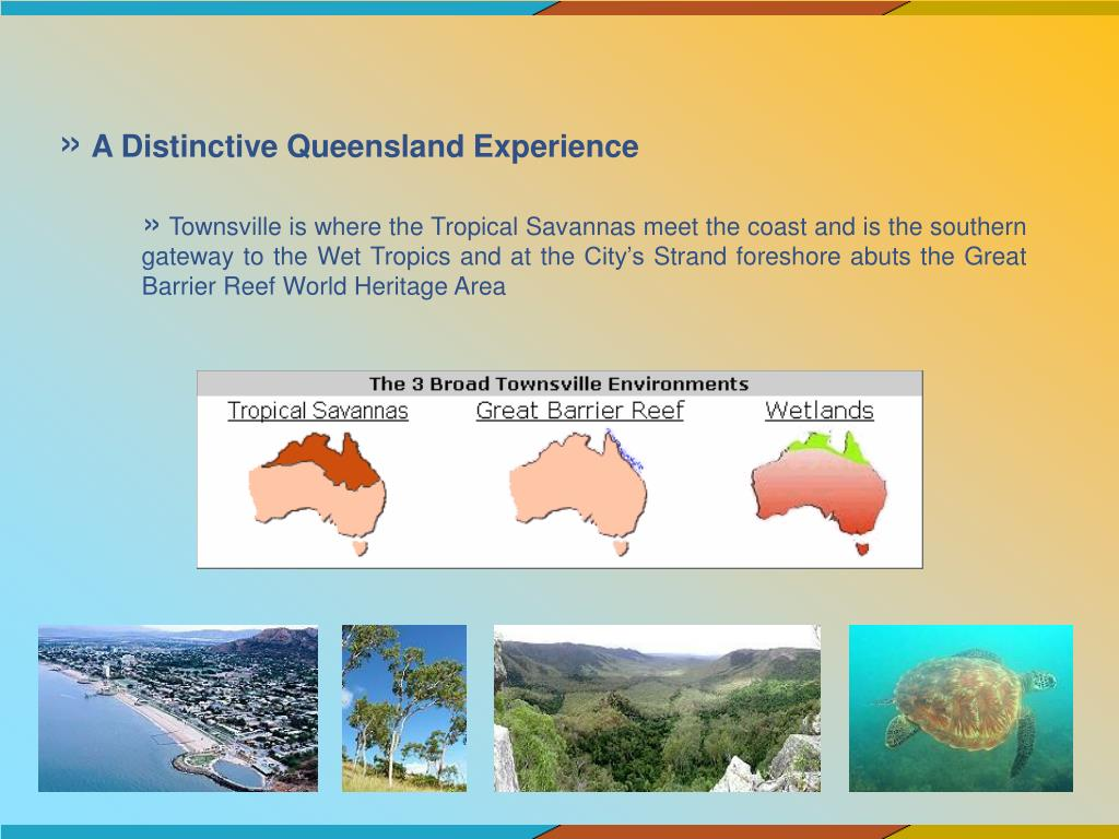 A Distinctive Queensland Experience