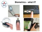 biometrics what if