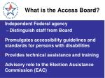 what is the access board