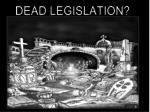 dead legislation