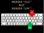 series llc not series lpc