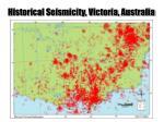 historical seismicity victoria australia