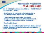 framework programme fp vi 2002 2006