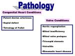 congenital heart conditions
