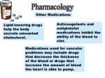 pharmacology other medications
