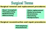 removal replacement surgery