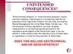 unintended consequences1