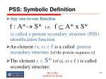 pss symbolic definition74