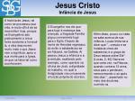 jesus cristo inf ncia de jesus