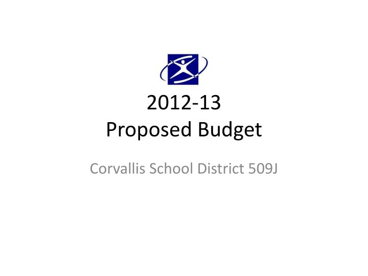 2012 13 proposed budget n.