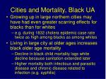 cities and mortality black ua