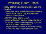 predicting future trends