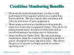 condition monitoring benefits