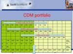 cdm portfolio