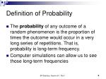 definition of probability
