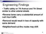 engineering findings