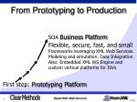 from prototyping to production