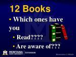 12 books6