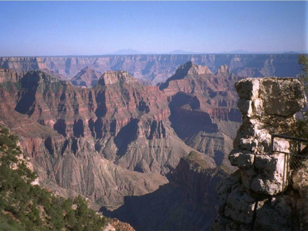 The Grand Canyon National Park, U.S.A.