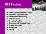 kes services