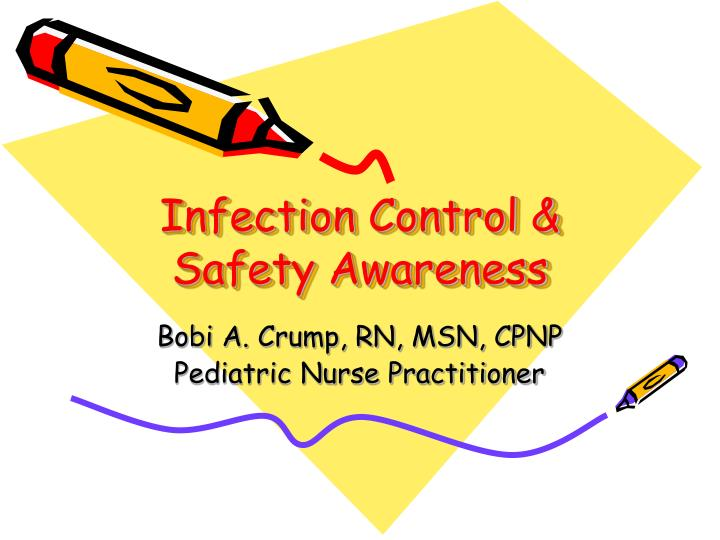 infection control safety awareness n.