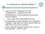 a comment on german banks 3