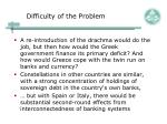 difficulty of the problem1