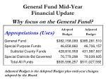general fund mid year financial update2