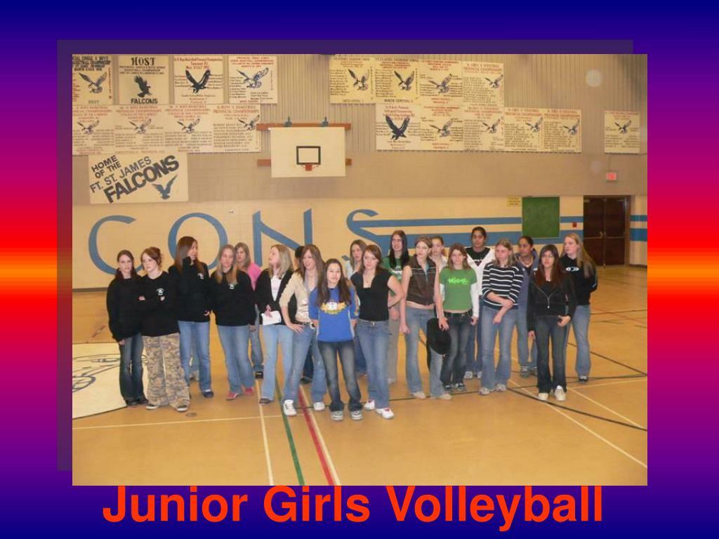 Junior Girls Volleyball