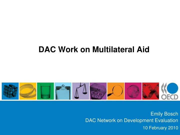 dac work on multilateral aid n.