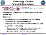 technology transfer partnership intermediaries2