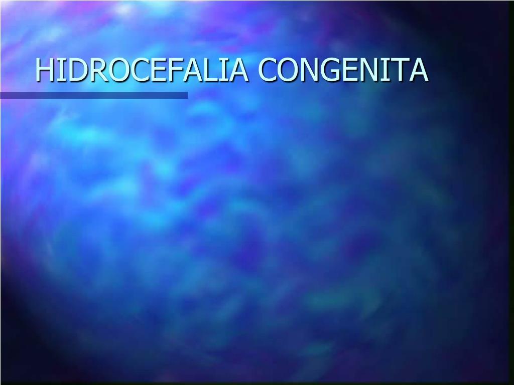 hidrocefalia congenita l.