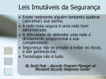 leis imut veis da seguran a1