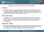 vision and goal of the erc