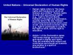 united nations universal declaration of human rights1