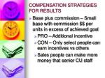 compensation strategies for results1