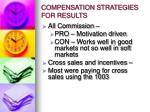 compensation strategies for results2