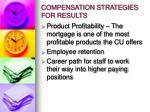 compensation strategies for results5