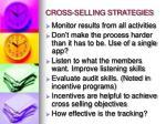 cross selling strategies1
