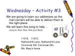 wednesday activity 3